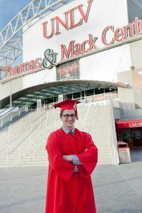 Jordan Baker UNLV Graduate December 2013
